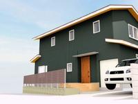 高倉台の家、無事上棟しました