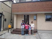 大窪Ⅲの家、床下暖房の測定結果