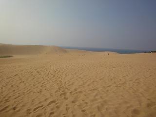 鳥取砂丘 砂の美術館へ