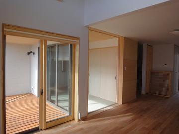 谷八木Ⅱの家、内装完成