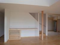 印南の家、床下エアコン暖房