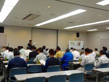 HK協力会で安全に関しての研修会