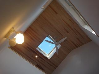 江井島Ⅲの家、3階から光と風