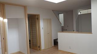 大窪Ⅲの家、床下暖房で暖かさ体感