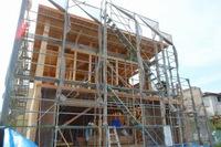 舞多聞西の家と菅の台Ⅱの家、構造見学会を開催!