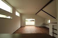 北野Ⅱの家、内装工事完了