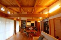 西野添Ⅲの家、2期工事も完了し、平屋の家取材