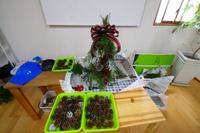 HK友の会でクリスマススワッグ作り!