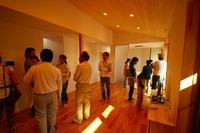 松が丘の家、完成見学会を開催