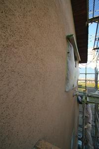 住吉Ⅱの家、外装が完成し、外構工事中!