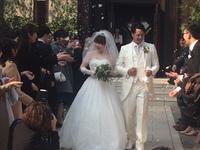 鹿児島で長男の結婚式へ