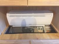 モデルハウスの床下エアコンの効果