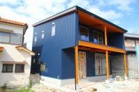 中尾の家「モデルハウス」の外装が完成しました!