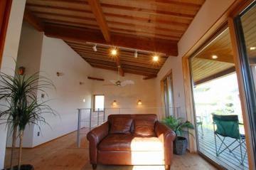 中尾の家 家具も設置し、特別見学会