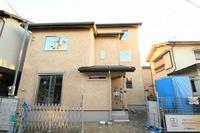 江井島Ⅲの家、そとん塗りの外装完成
