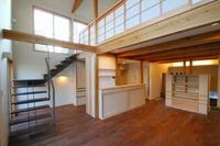 東須磨の家、内部もほぼ完成。
