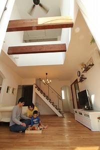 快適な暮らしの追求、山手台の家
