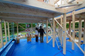 淡路島で「FREEQ五色の家」を上棟!