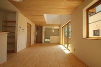 西島Ⅲの家、木のぬくもりを感じられる家