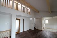 長坂寺の家、開放感のあるLDK