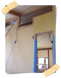 住吉Ⅱの家 子ども部屋のロフトに杉板を貼りました