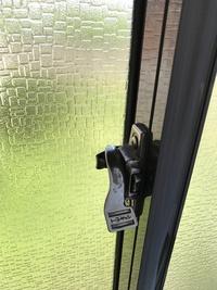 腰窓 鍵交換