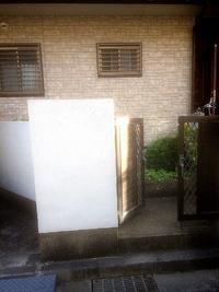 門柱塗装工事