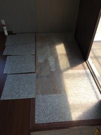土間の床施工