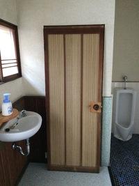 トイレドアの取り替え