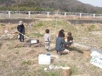 3月23日(土)参加者募集、畑で遊びます♪