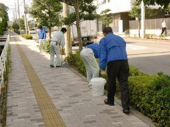 都市環境の日 清掃奉仕作業