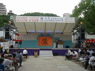 生田神社の夏祭り