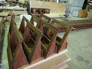 手作り木製ポット