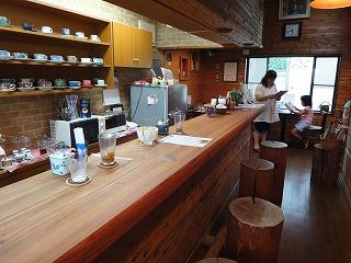 蘇る喫茶店のカウンター