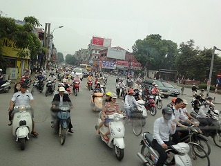 ルールがあってないような国ベトナム