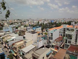 ベトナム・ホーチミンの街中