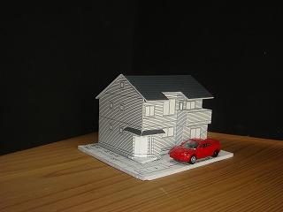 住宅模型はイメージが伝わりやすい
