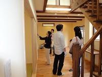 「藤江の家」、見学会の様子
