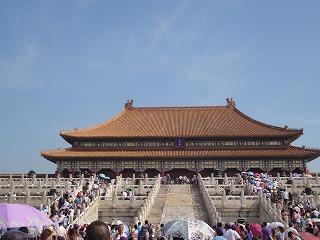 中国最大の木造建築