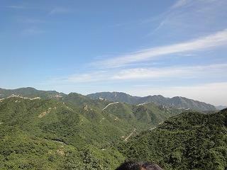 中国の巨大遺跡「万里の長城」