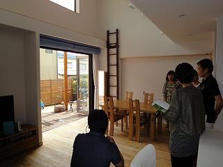 センターキッチンのある家、撮影