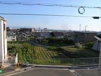 眺望の良い住宅地で、眺めは最高!
