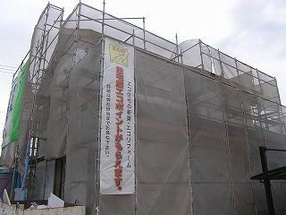 住宅版エコポイント「播磨の家」施工状況