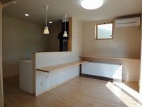 谷八木の家、内装完成