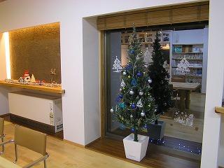 事務所のクリスマスバージョン