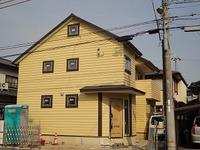 藤江の家、外装工事完成