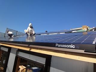 大窪Ⅱの家、10KW以上の太陽光発電