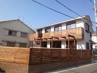 大窪Ⅱの家、外構工事も完成