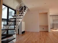 スチールのデザイン階段、姫路豊富の家