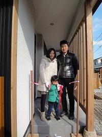 姫路豊富の家、引き渡し